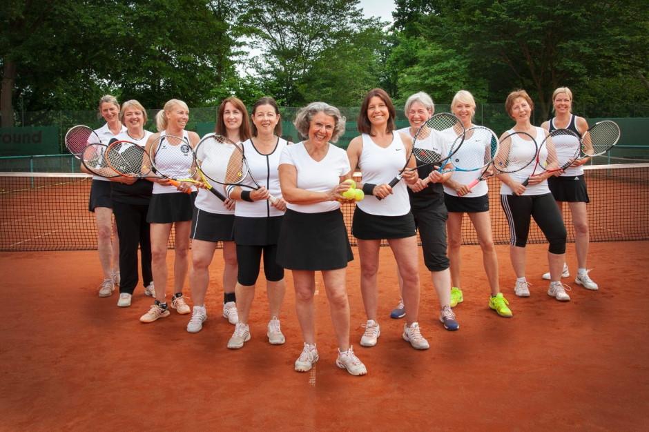 Damen 50 Mannschaft